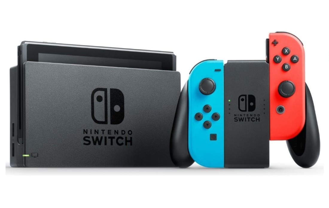 Nintendo Switch home video game console