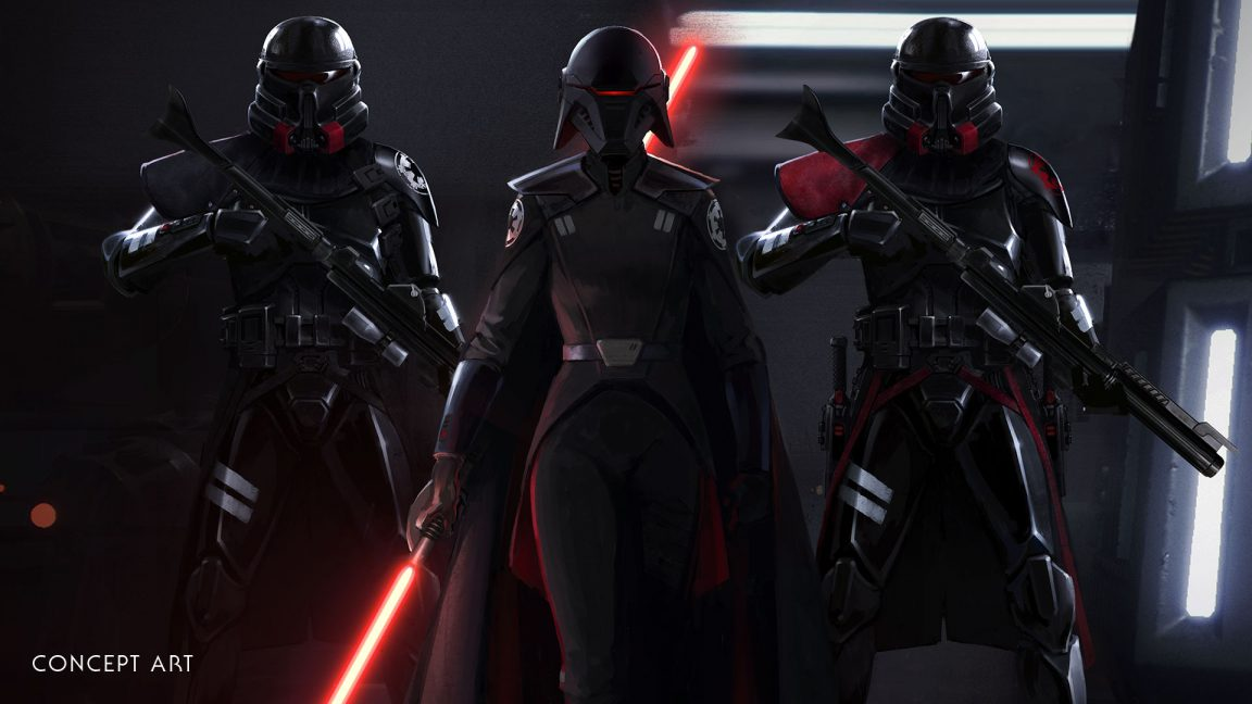 Star Wars Jedi Fallen Order Second Sister with Purge Troopers