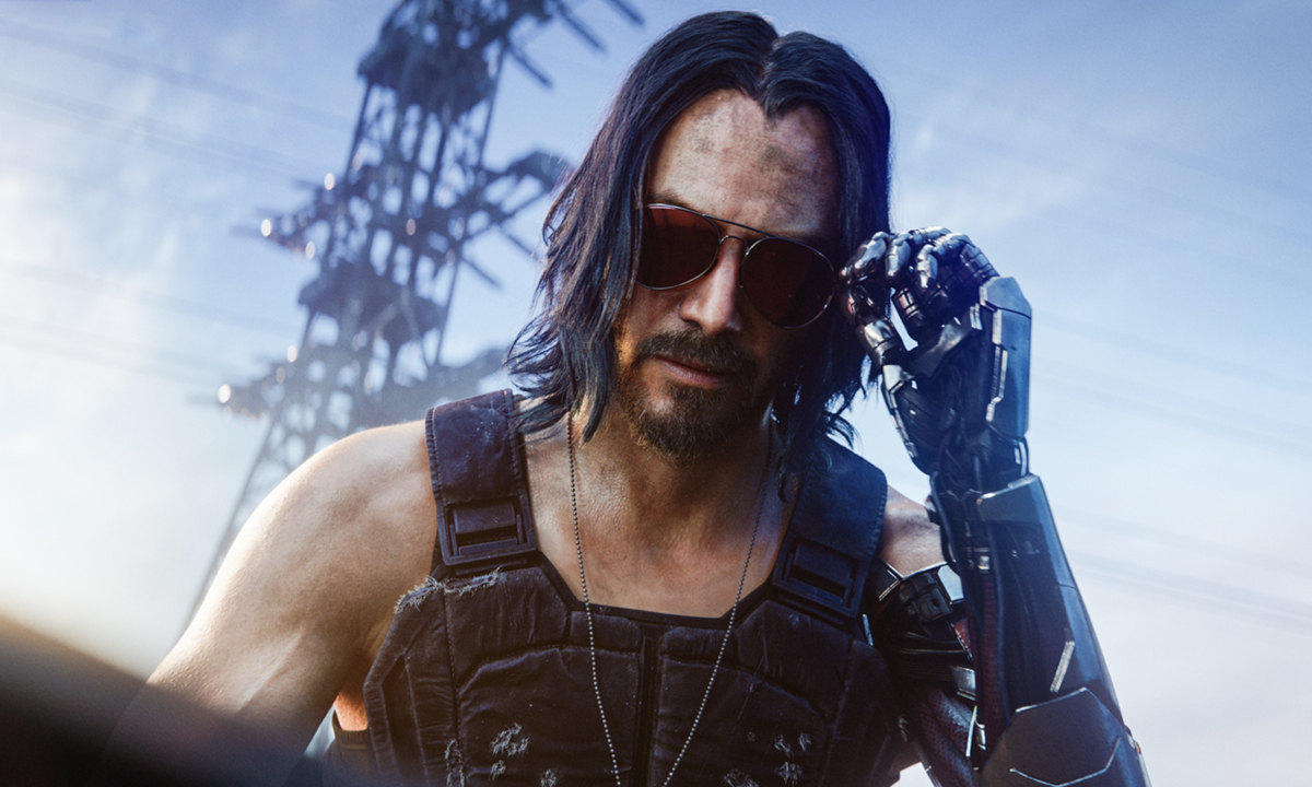 Keanu Reeves starring in Cyberpunk 2077